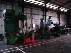 Milling & Lapping Area